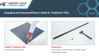 Installation instruction 4- sided 3L TripleLock Tiles