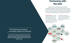 Corporate brochure PDF example page