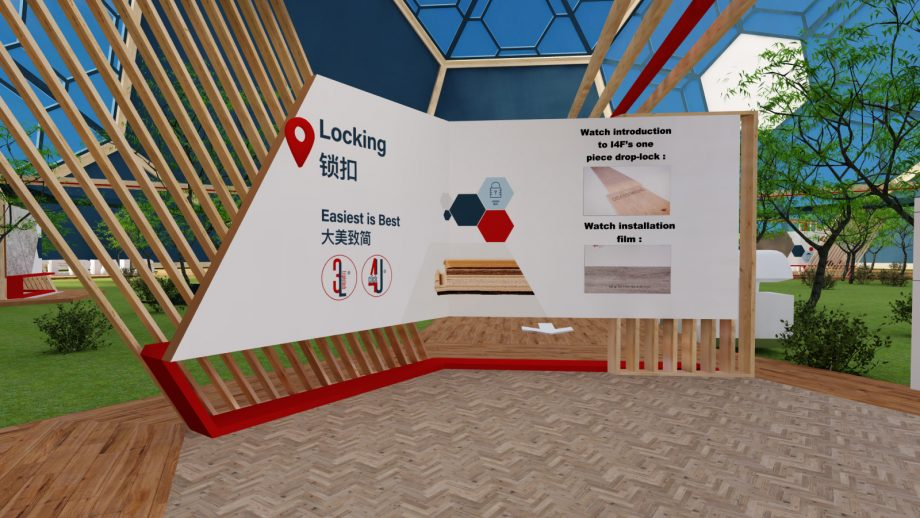 3D CGI rendering of an information panel